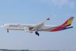 セブンさんが、新千歳空港で撮影したアシアナ航空 A330-323Xの航空フォト(飛行機 写真・画像)