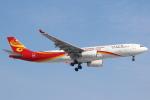 セブンさんが、新千歳空港で撮影した香港航空 A330-343Xの航空フォト(飛行機 写真・画像)