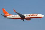 セブンさんが、新千歳空港で撮影したチェジュ航空 737-8LCの航空フォト(飛行機 写真・画像)