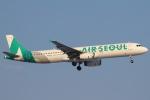 セブンさんが、新千歳空港で撮影したエアソウル A321-231の航空フォト(飛行機 写真・画像)