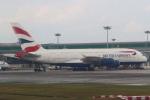 セブンさんが、シンガポール・チャンギ国際空港で撮影したブリティッシュ・エアウェイズ A380-841の航空フォト(飛行機 写真・画像)