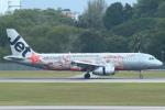 セブンさんが、シンガポール・チャンギ国際空港で撮影したジェットスター・アジア A320-232の航空フォト(飛行機 写真・画像)