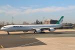 セブンさんが、パリ シャルル・ド・ゴール国際空港で撮影したマーハーン航空 A340-642の航空フォト(写真)