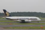 keitsamさんが、成田国際空港で撮影したシンガポール航空 A380-841の航空フォト(飛行機 写真・画像)