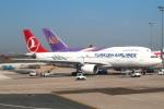 セブンさんが、パリ シャルル・ド・ゴール国際空港で撮影したターキッシュ・エアラインズ A330-223の航空フォト(飛行機 写真・画像)