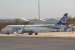 セブンさんが、パリ シャルル・ド・ゴール国際空港で撮影したアルキア・イスラエル・エアラインズ ERJ-190-200 IGW (ERJ-195AR)の航空フォト(飛行機 写真・画像)