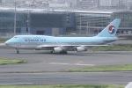 しゃこ隊さんが、羽田空港で撮影した大韓航空 747-4B5の航空フォト(写真)