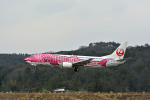 Gambardierさんが、岡山空港で撮影した日本トランスオーシャン航空 737-446の航空フォト(写真)