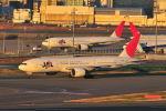 ポン太さんが、羽田空港で撮影した日本航空 777-246/ERの航空フォト(写真)