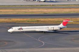 航空フォト:JA006D 日本航空 MD-90