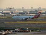 kiyohsさんが、羽田空港で撮影したカンタス航空 747-438/ERの航空フォト(写真)
