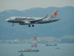 kiyohsさんが、香港国際空港で撮影したジェットスター・パシフィック A320-232の航空フォト(写真)