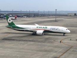 コマキサン(マキちゃん)さんが、中部国際空港で撮影したエバー航空 787-9の航空フォト(飛行機 写真・画像)