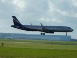 kiyohsさんが、アムステルダム・スキポール国際空港で撮影したアエロフロート・ロシア航空 A321-211の航空フォト(飛行機 写真・画像)