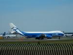 kiyohsさんが、成田国際空港で撮影したエアブリッジ・カーゴ・エアラインズ 747-83QFの航空フォト(飛行機 写真・画像)