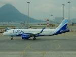 kiyohsさんが、香港国際空港で撮影したインディゴ A320-271Nの航空フォト(飛行機 写真・画像)