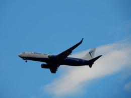 kiyohsさんが、フランクフルト国際空港で撮影したブルー・エア 737-82Rの航空フォト(飛行機 写真・画像)