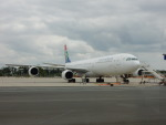 kiyohsさんが、フランクフルト国際空港で撮影した南アフリカ航空 A340-642の航空フォト(写真)