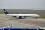 EC5Wさんが、中部国際空港で撮影したルフトハンザドイツ航空 A340-642の航空フォト(写真)