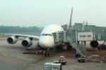 セブンさんが、シンガポール・チャンギ国際空港で撮影したシンガポール航空 A380-841の航空フォト(飛行機 写真・画像)
