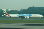 セブンさんが、シンガポール・チャンギ国際空港で撮影したエミレーツ航空 777-31H/ERの航空フォト(写真)