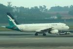 セブンさんが、シンガポール・チャンギ国際空港で撮影したシルクエア A320-233の航空フォト(飛行機 写真・画像)