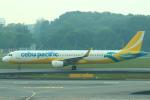 セブンさんが、シンガポール・チャンギ国際空港で撮影したセブパシフィック航空 A321-211の航空フォト(飛行機 写真・画像)