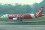 セブンさんが、シンガポール・チャンギ国際空港で撮影したインドネシア・エアアジア A320-216の航空フォト(飛行機 写真・画像)