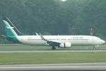 セブンさんが、シンガポール・チャンギ国際空港で撮影したシルクエア 737-8SAの航空フォト(飛行機 写真・画像)