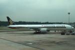 セブンさんが、シンガポール・チャンギ国際空港で撮影したシンガポール航空 777-312/ERの航空フォト(飛行機 写真・画像)