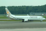 セブンさんが、シンガポール・チャンギ国際空港で撮影したミャンマー・ナショナル・エアウェイズ 737-86Nの航空フォト(飛行機 写真・画像)