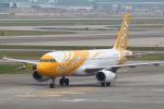 セブンさんが、シンガポール・チャンギ国際空港で撮影したスクート A320-232の航空フォト(飛行機 写真・画像)