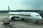 セブンさんが、シンガポール・チャンギ国際空港で撮影したシンガポール航空 787-10の航空フォト(飛行機 写真・画像)