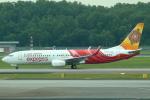 セブンさんが、シンガポール・チャンギ国際空港で撮影したエア・インディア・エクスプレス 737-86Nの航空フォト(飛行機 写真・画像)