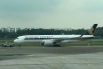 セブンさんが、シンガポール・チャンギ国際空港で撮影したシンガポール航空 A350-941の航空フォト(飛行機 写真・画像)