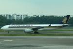セブンさんが、シンガポール・チャンギ国際空港で撮影したシンガポール航空 A330-343Xの航空フォト(写真)