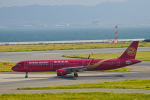 we love kixさんが、関西国際空港で撮影した吉祥航空 A321-211の航空フォト(写真)