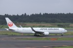 KAZFLYERさんが、成田国際空港で撮影した日本航空 767-346/ERの航空フォト(写真)