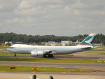 kiyohsさんが、成田国際空港で撮影したキャセイパシフィック航空 747-867F/SCDの航空フォト(飛行機 写真・画像)