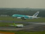kiyohsさんが、成田国際空港で撮影した全日空 A380-841の航空フォト(飛行機 写真・画像)