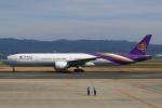 セブンさんが、関西国際空港で撮影したタイ国際航空 777-3AL/ERの航空フォト(飛行機 写真・画像)