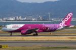 セブンさんが、関西国際空港で撮影したピーチ A320-214の航空フォト(写真)