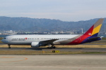 セブンさんが、関西国際空港で撮影したアシアナ航空 767-38Eの航空フォト(写真)