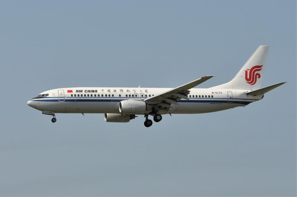 kumagorouさんの中国国際航空 Boeing 737-800 (B-5173) 航空フォト