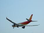 kiyohsさんが、上海虹橋国際空港で撮影した海南航空 A330-343Xの航空フォト(飛行機 写真・画像)