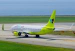CB20さんが、関西国際空港で撮影したジンエアー 737-8SHの航空フォト(写真)