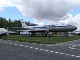 ilyushinさんが、ウリヤノフスク・バラタエフカ空港で撮影したアエロフロート・ソビエト航空 Tu-104Aの航空フォト(飛行機 写真・画像)