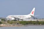 kuro2059さんが、那覇空港で撮影した中国国際航空 737-86Nの航空フォト(飛行機 写真・画像)