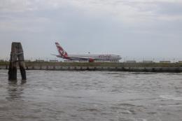 チャッピー・シミズさんが、ヴェネツィア マルコ・ポーロ国際空港で撮影したエア・カナダ・ルージュ 767-333/ERの航空フォト(飛行機 写真・画像)