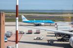 チャッピー・シミズさんが、ヴェネツィア マルコ・ポーロ国際空港で撮影したKLMシティホッパー ERJ-170-200 (ERJ-175STD)の航空フォト(写真)